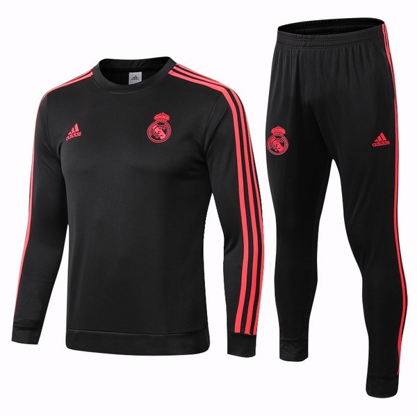 Chandal Real Madrid 2018/2019 Negro Rojo Replicas Futbol